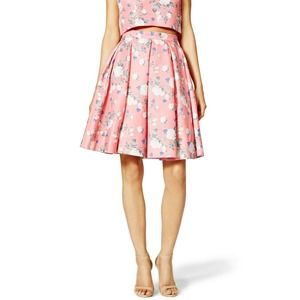 Erin Fetherston Josephine Skirt S Floral Pleated